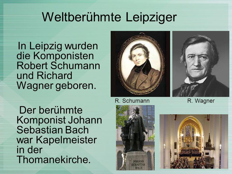 Weltberühmte Leipziger