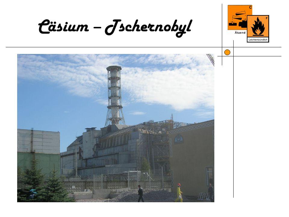 Cäsium – Tschernobyl 8