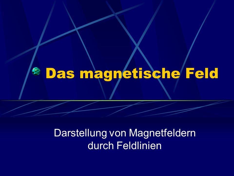 Darstellung von Magnetfeldern durch Feldlinien