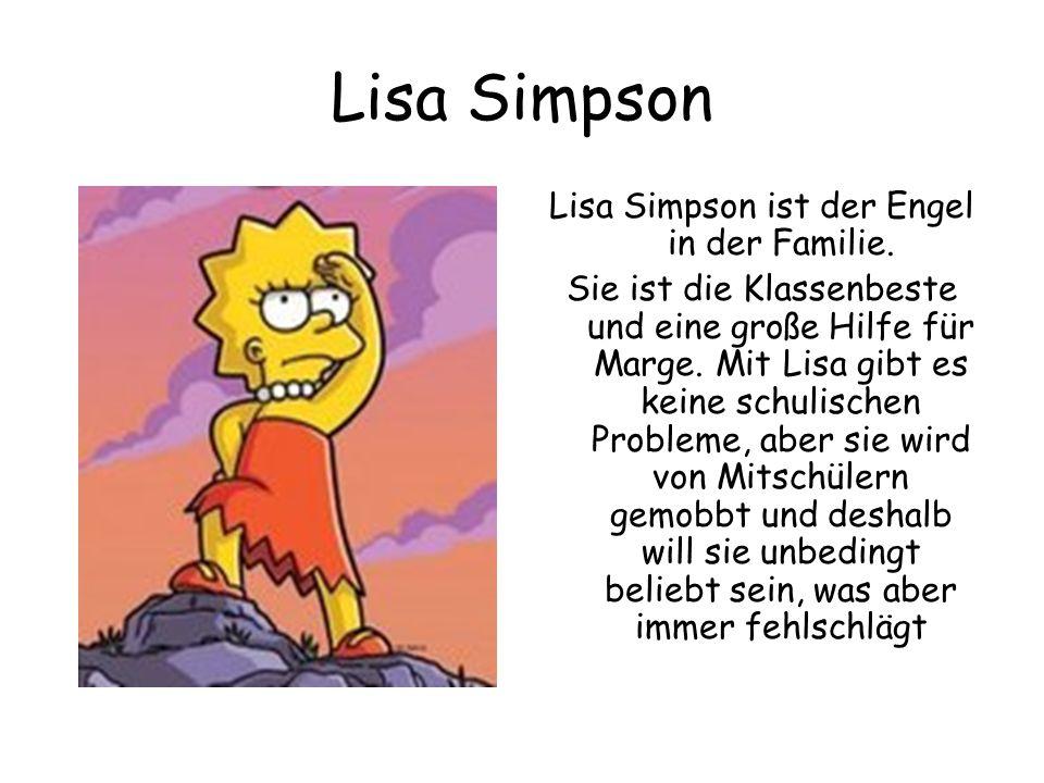 Lisa Simpson ist der Engel in der Familie.