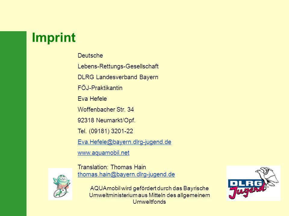 Imprint Deutsche Lebens-Rettungs-Gesellschaft