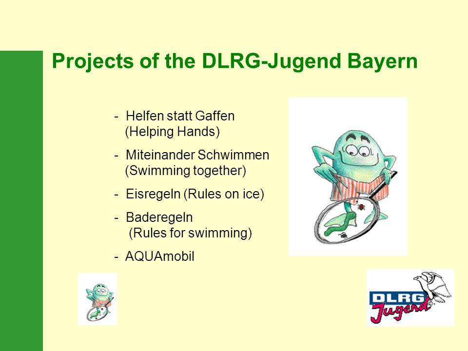 Projects of the DLRG-Jugend Bayern