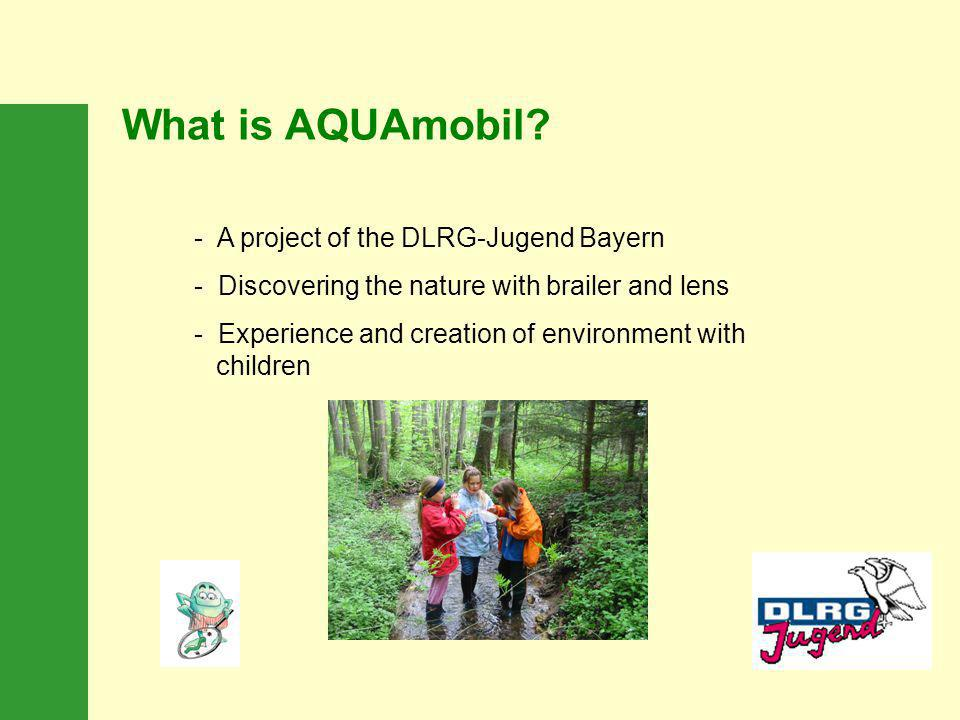 What is AQUAmobil - A project of the DLRG-Jugend Bayern