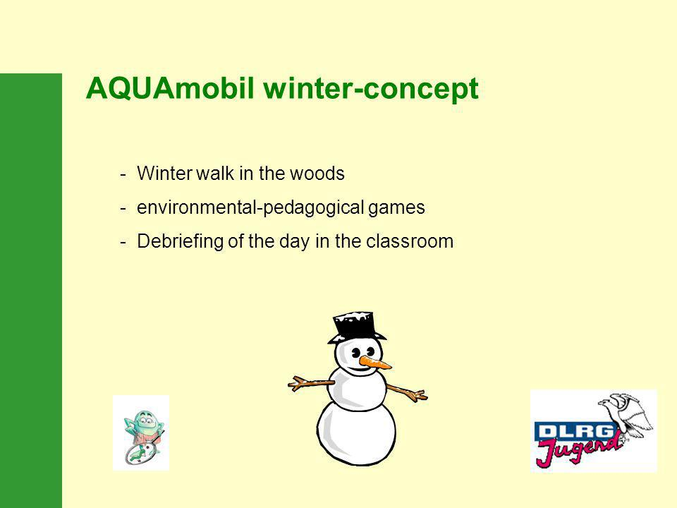 AQUAmobil winter-concept