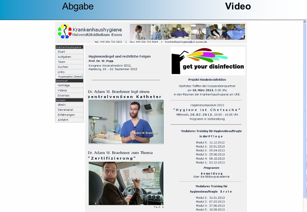 Abgabe Video Sprachförderung des Fachbereiches Gesundheit Emsland