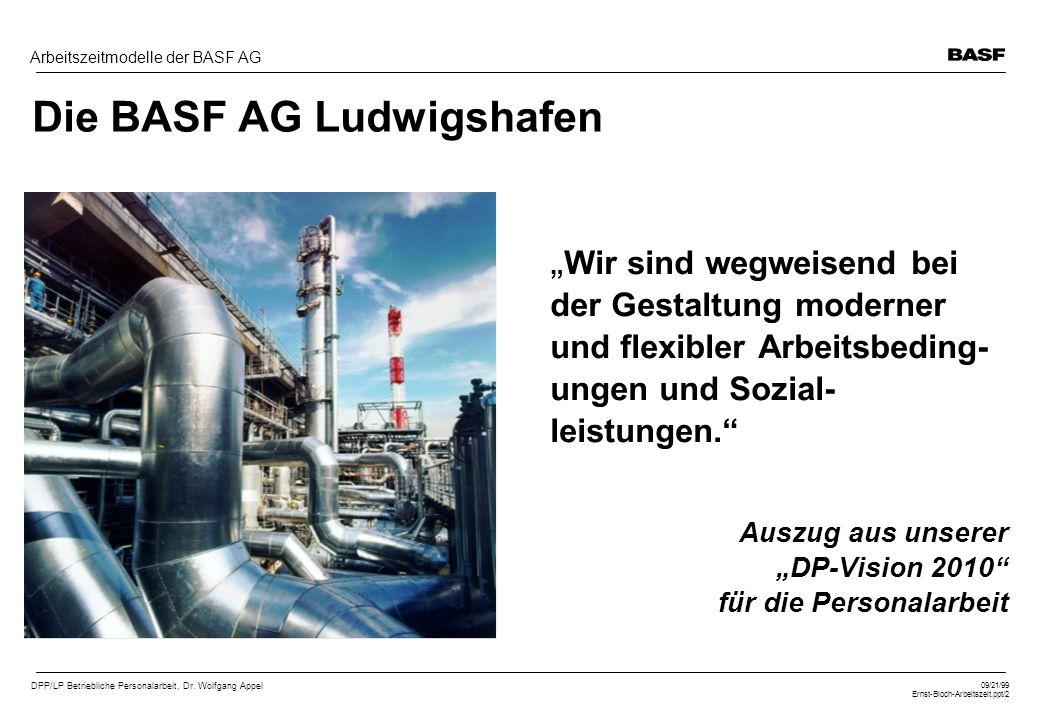 Die BASF AG Ludwigshafen