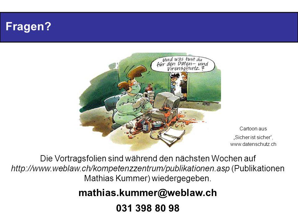 """""""Sicher ist sicher , www.datenschutz.ch"""