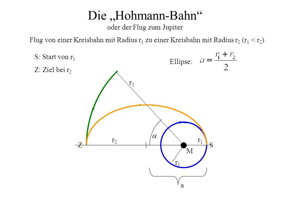 """Die """"Hohmann-Bahn oder der Flug zum Jupiter"""
