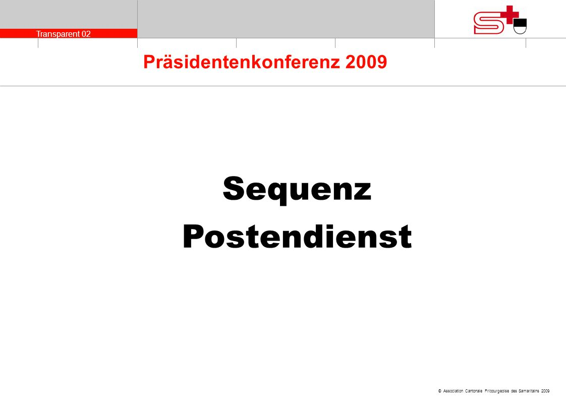 Sequenz Postendienst