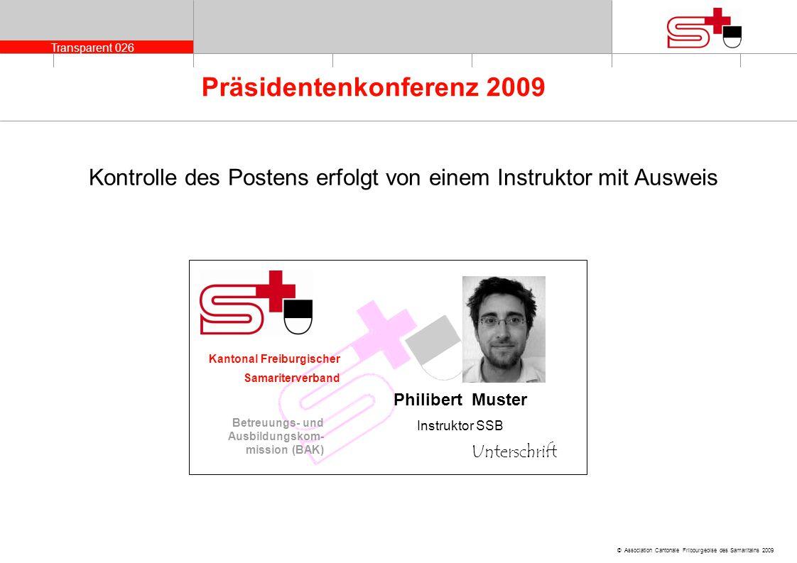 Kontrolle des Postens erfolgt von einem Instruktor mit Ausweis