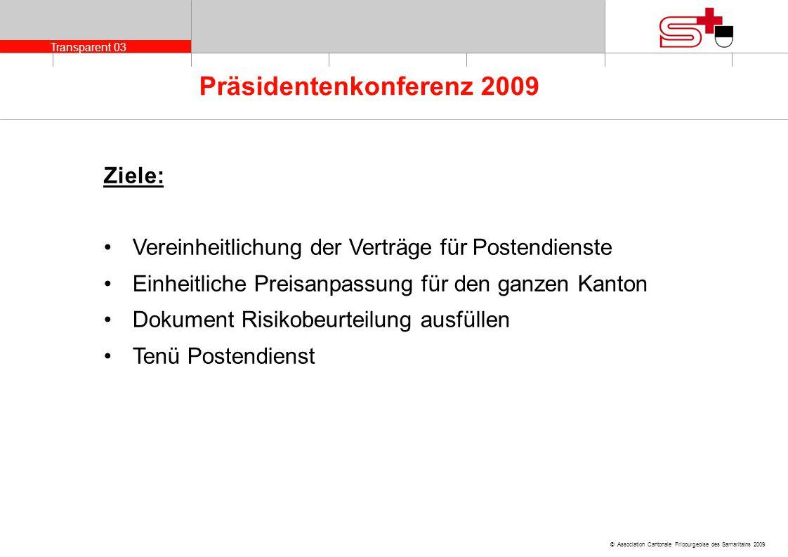 Ziele: Vereinheitlichung der Verträge für Postendienste. Einheitliche Preisanpassung für den ganzen Kanton.