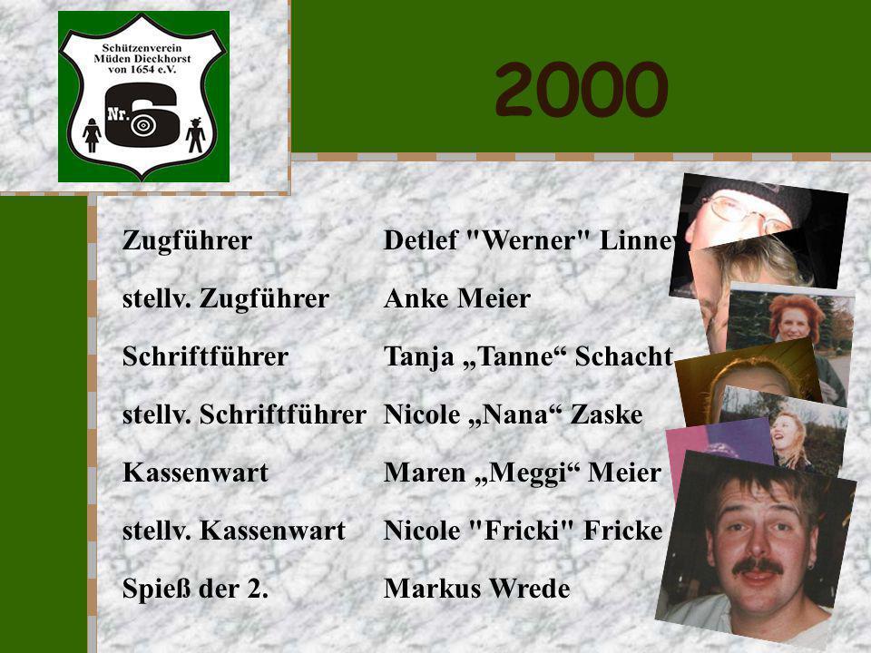 2000 Zugführer Detlef Werner Linneweh stellv. Zugführer Anke Meier