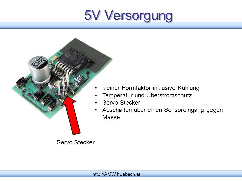 5V Versorgung kleiner Formfaktor inklusive Kühlung