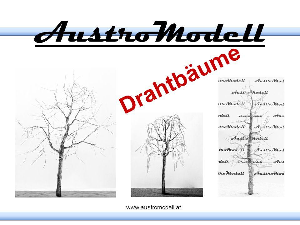 AustroModell Drahtbäume www.austromodell.at