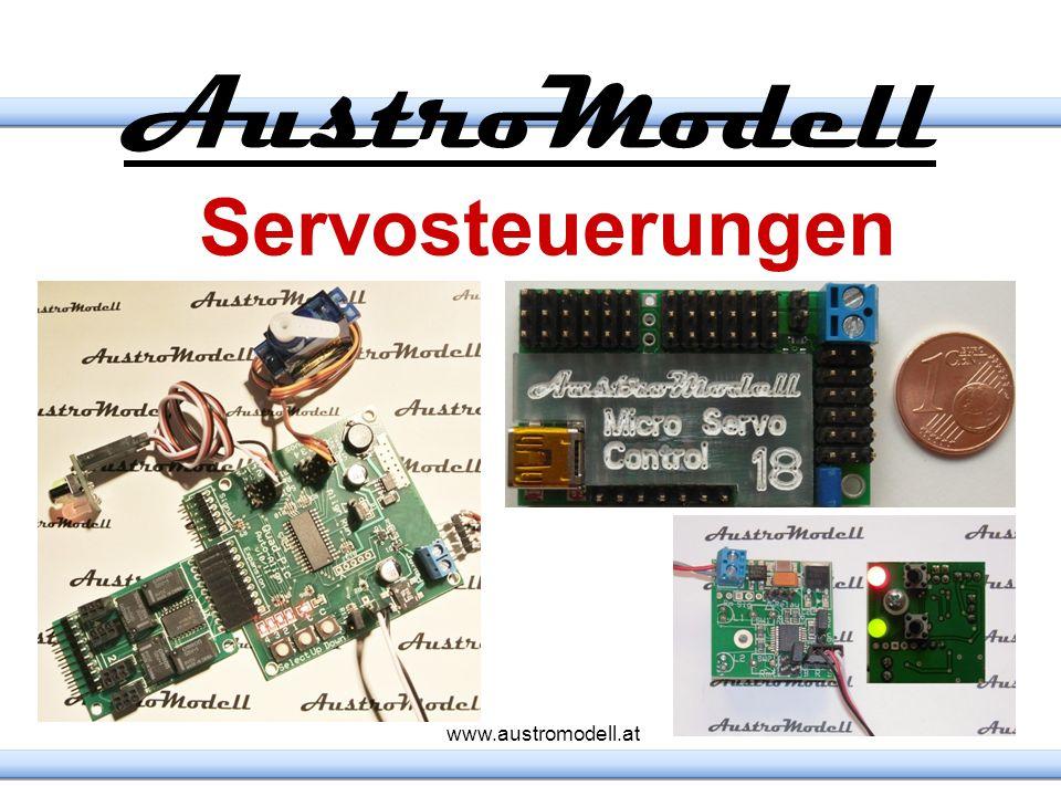 AustroModell Servosteuerungen www.austromodell.at 3