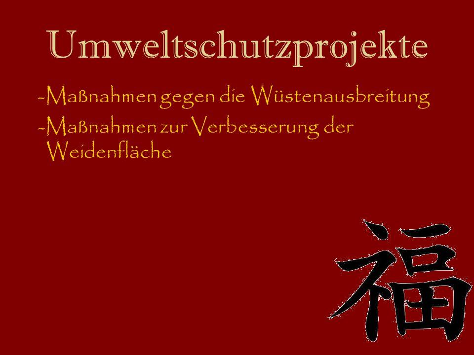 Umweltschutzprojekte