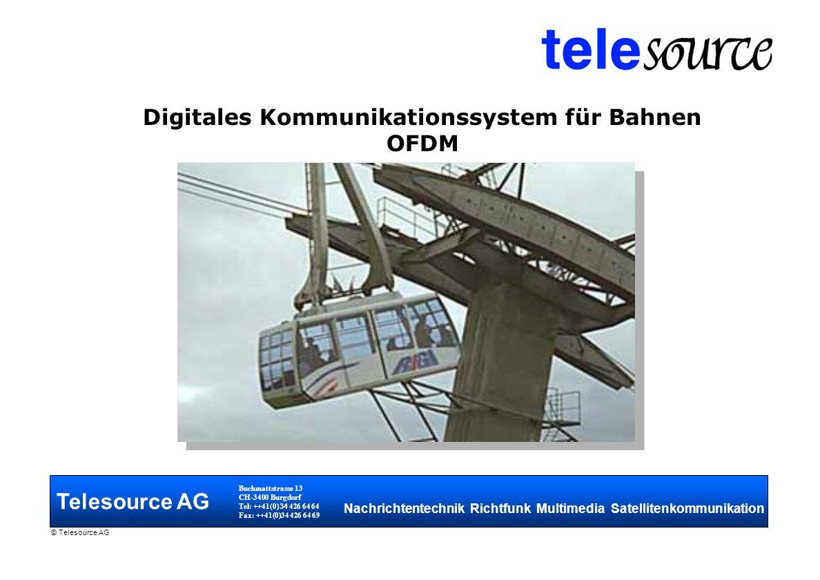 Digitales Kommunikationssystem für Bahnen