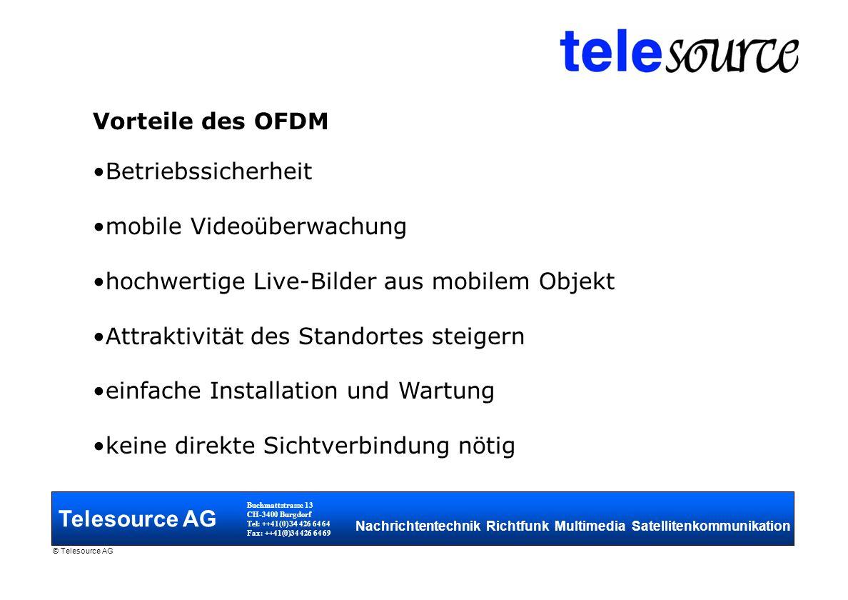 mobile Videoüberwachung hochwertige Live-Bilder aus mobilem Objekt