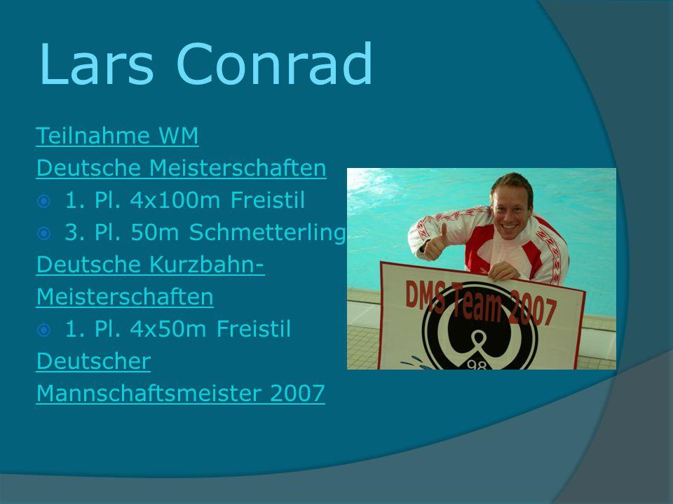 Lars Conrad Teilnahme WM Deutsche Meisterschaften