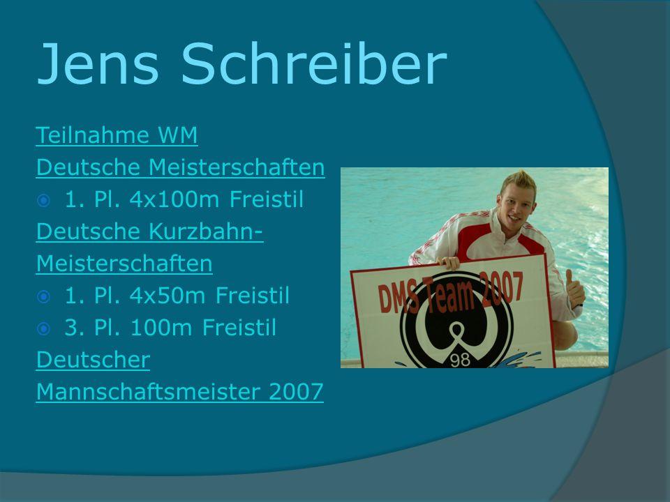 Jens Schreiber Teilnahme WM Deutsche Meisterschaften