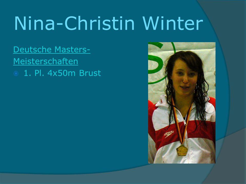 Nina-Christin Winter Deutsche Masters- Meisterschaften