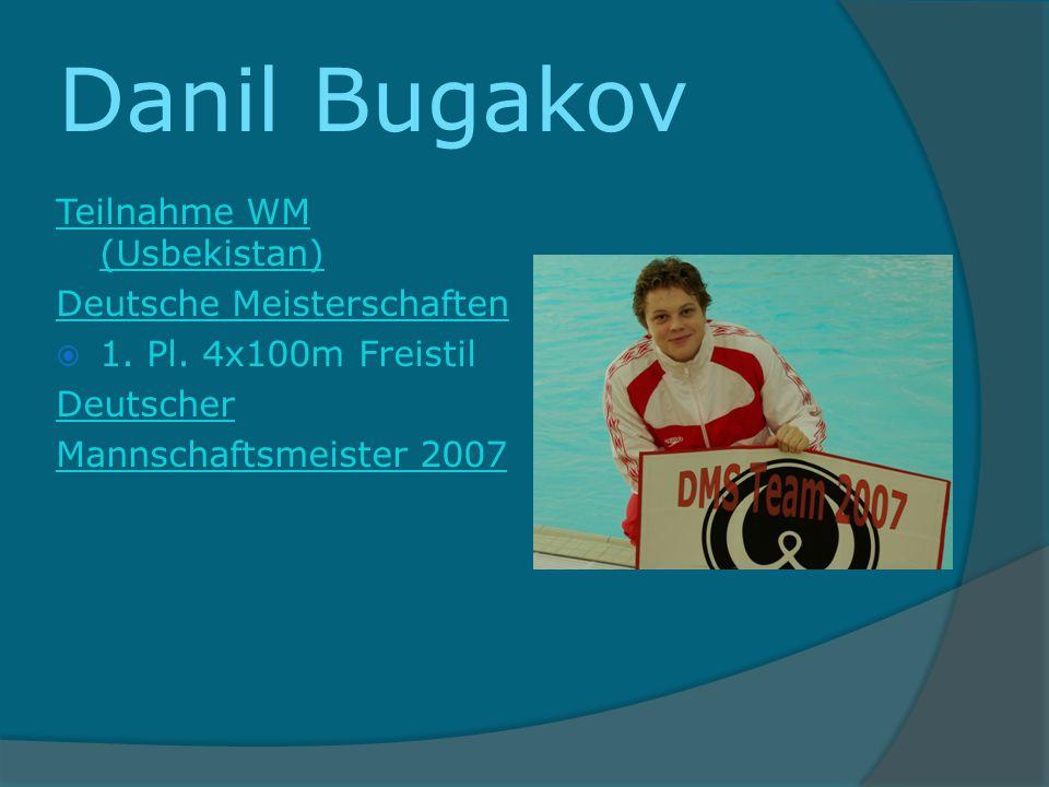 Danil Bugakov Teilnahme WM (Usbekistan) Deutsche Meisterschaften
