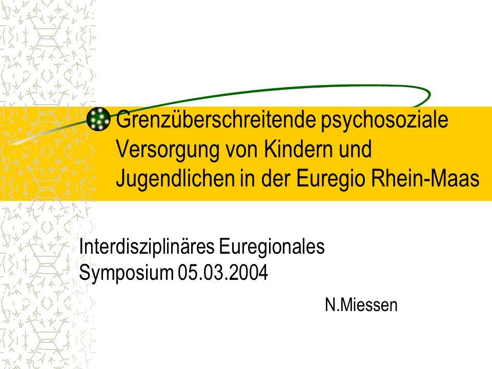 Interdisziplinäres Euregionales Symposium 05.03.2004 N.Miessen