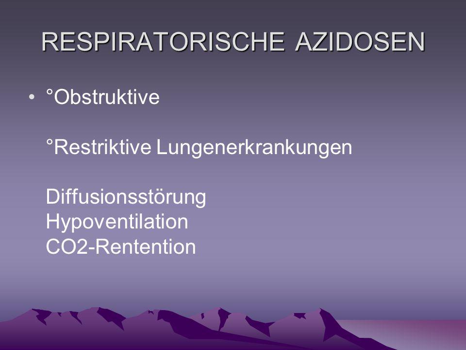 RESPIRATORISCHE AZIDOSEN