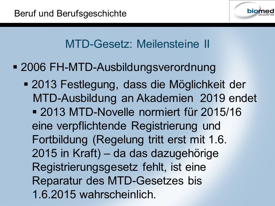 MTD-Gesetz: Meilensteine II