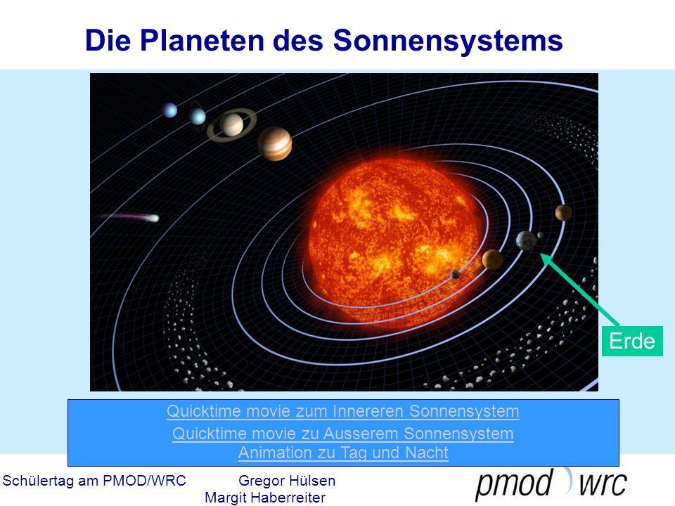Die Planeten des Sonnensystems
