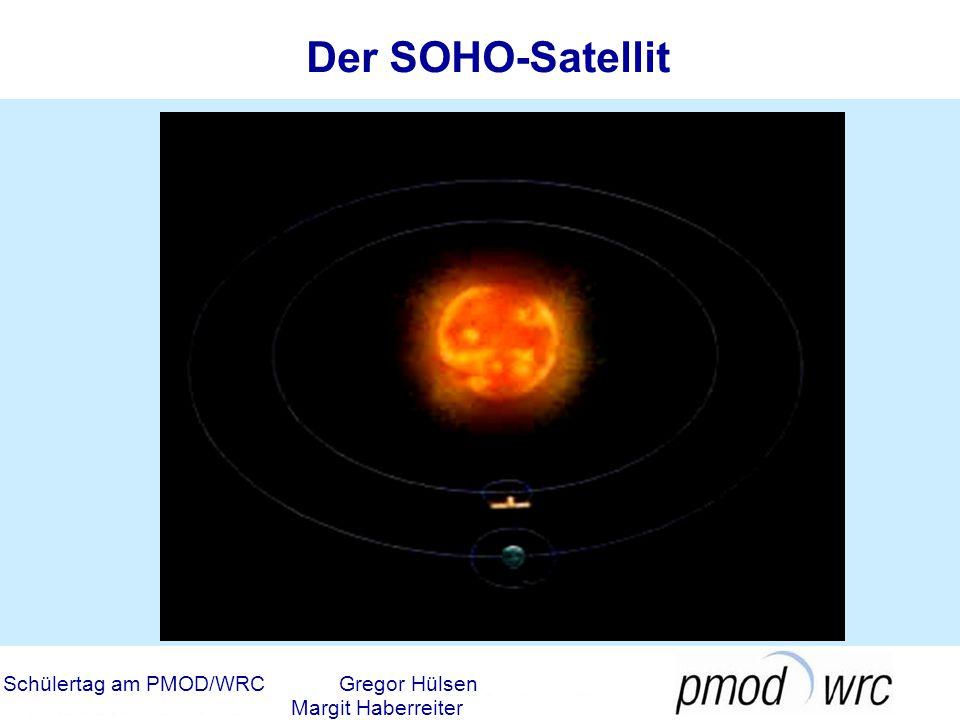 Der SOHO-Satellit Schülertag am PMOD/WRC Gregor Hülsen