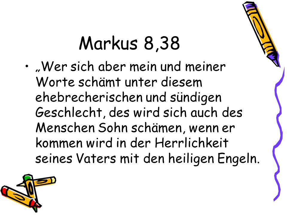 Markus 8,38