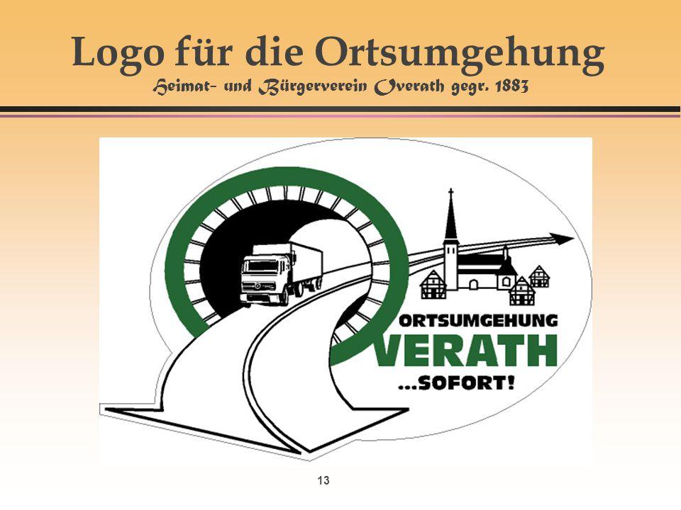 Logo für die Ortsumgehung Heimat- und Bürgerverein Overath gegr. 1883