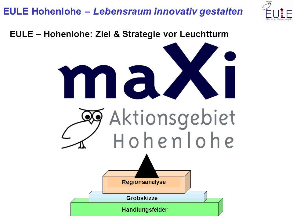 EULE – Hohenlohe: Ziel & Strategie vor Leuchtturm