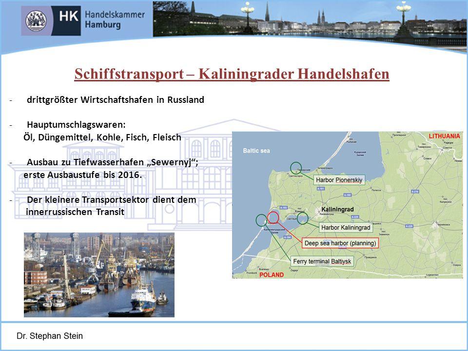 Schiffstransport – Kaliningrader Handelshafen