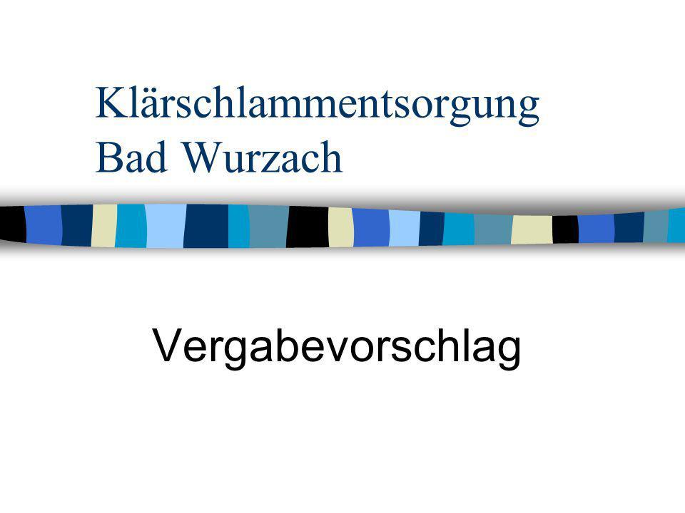 Klärschlammentsorgung Bad Wurzach