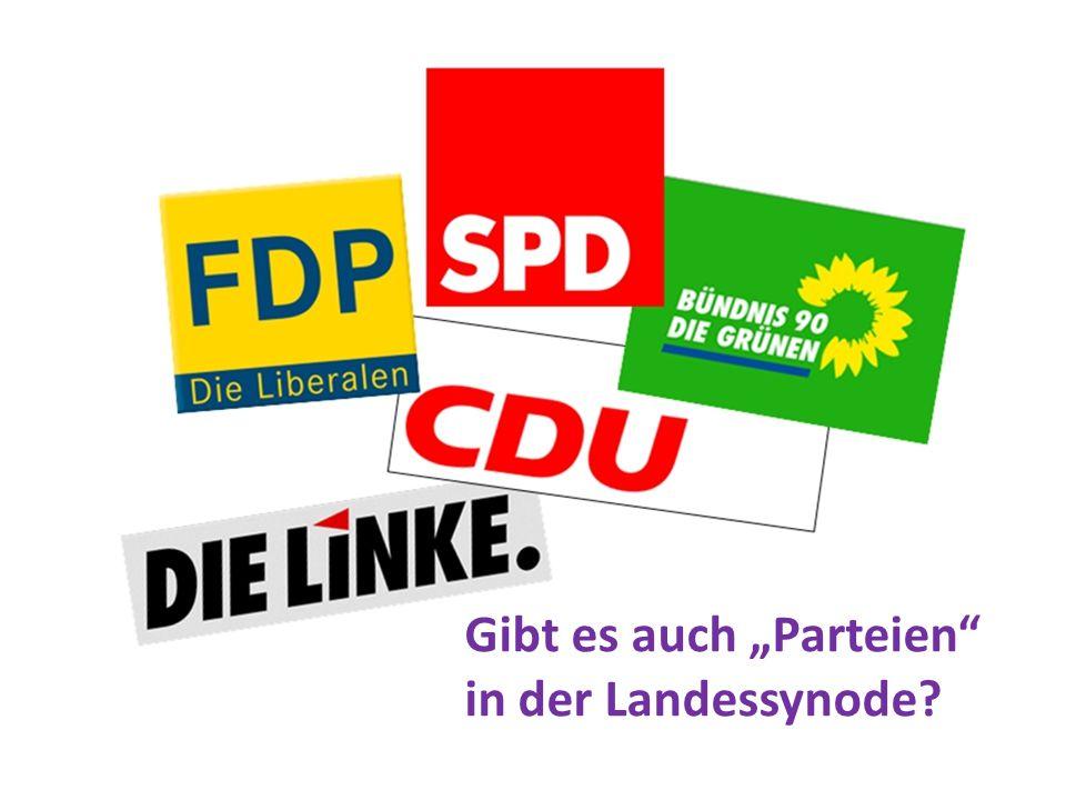 """Gibt es auch """"Parteien in der Landessynode"""