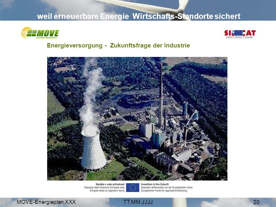 weil erneuerbare Energie Wirtschafts-Standorte sichert
