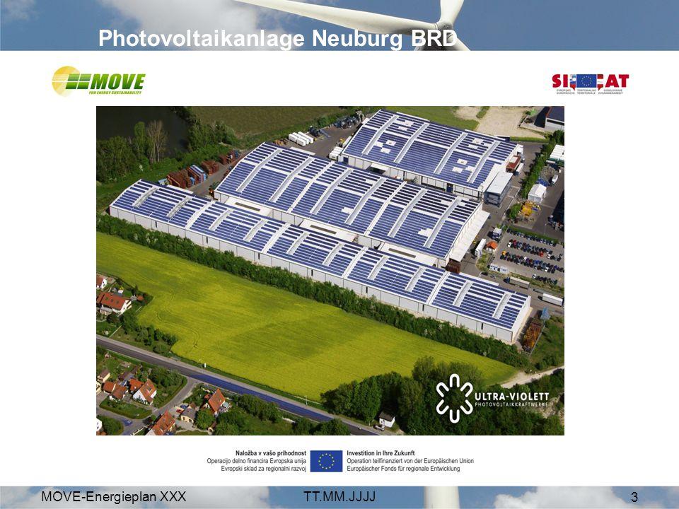 Photovoltaikanlage Neuburg BRD