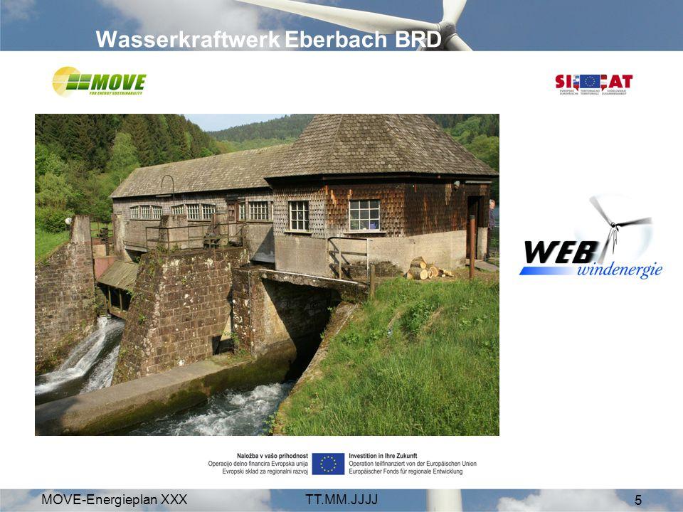 Wasserkraftwerk Eberbach BRD