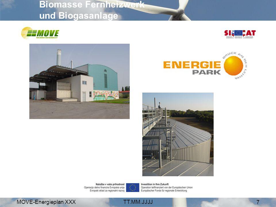 Biomasse Fernheizwerk und Biogasanlage