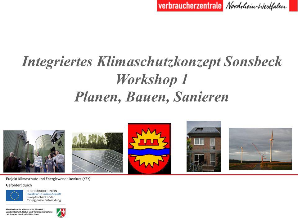 Integriertes Klimaschutzkonzept Sonsbeck