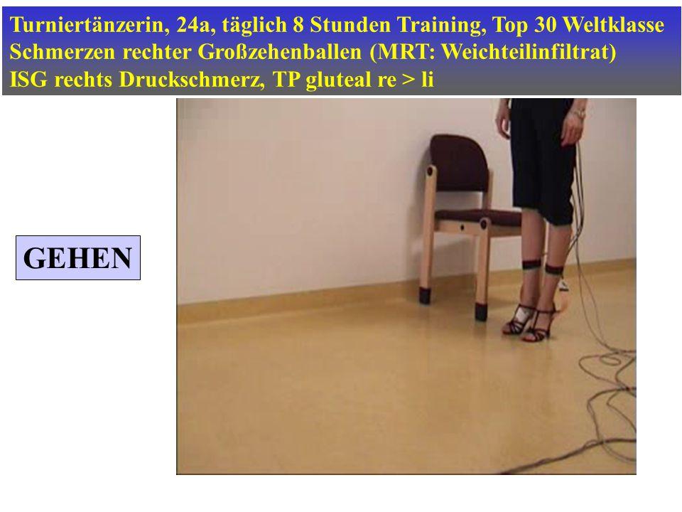 Turniertänzerin, 24a, täglich 8 Stunden Training, Top 30 Weltklasse