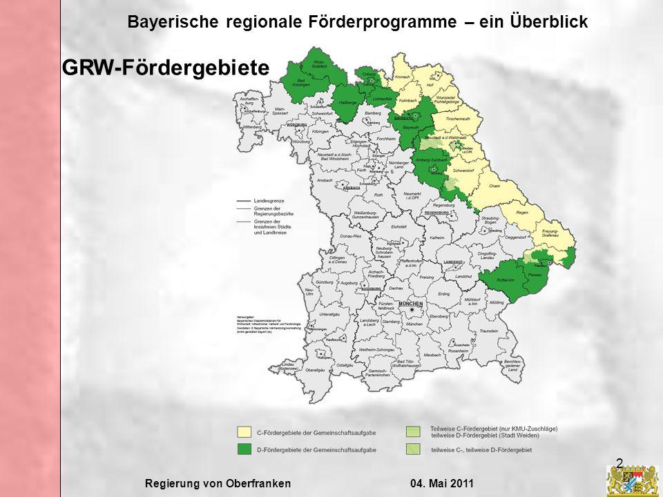 GRW-Fördergebiete