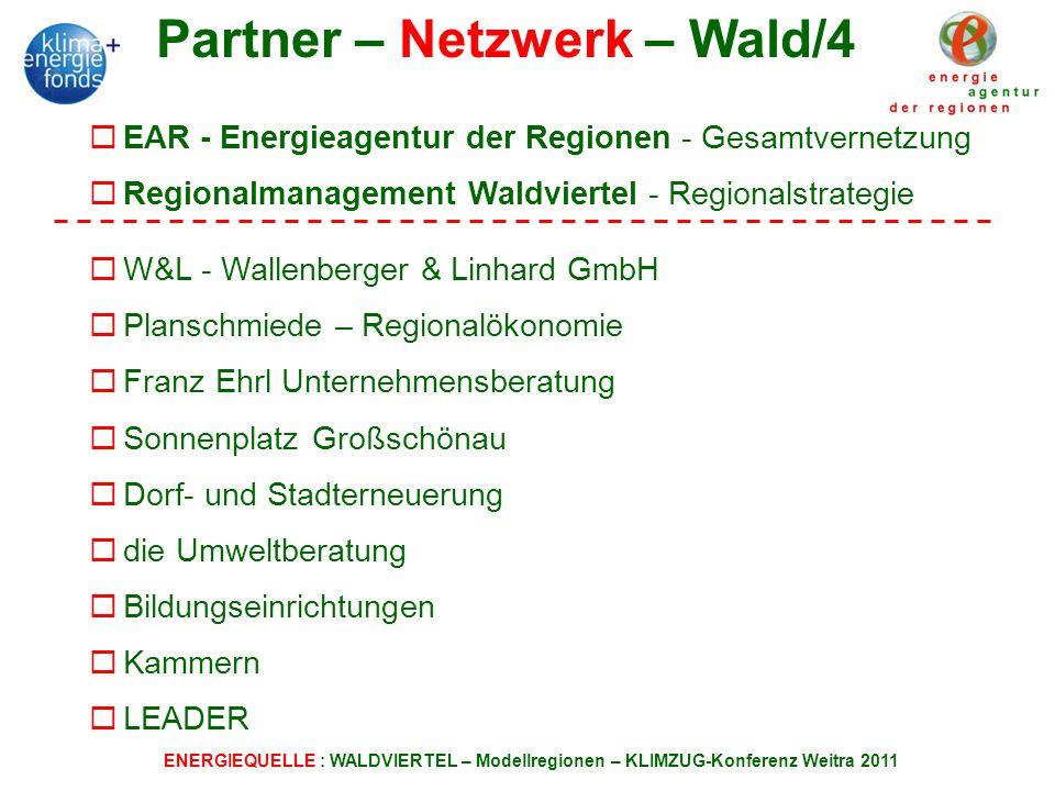 Partner – Netzwerk – Wald/4