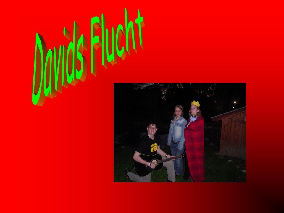 Davids Flucht