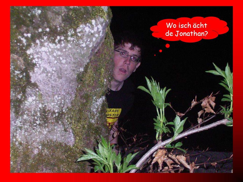 Wo isch ächt de Jonathan