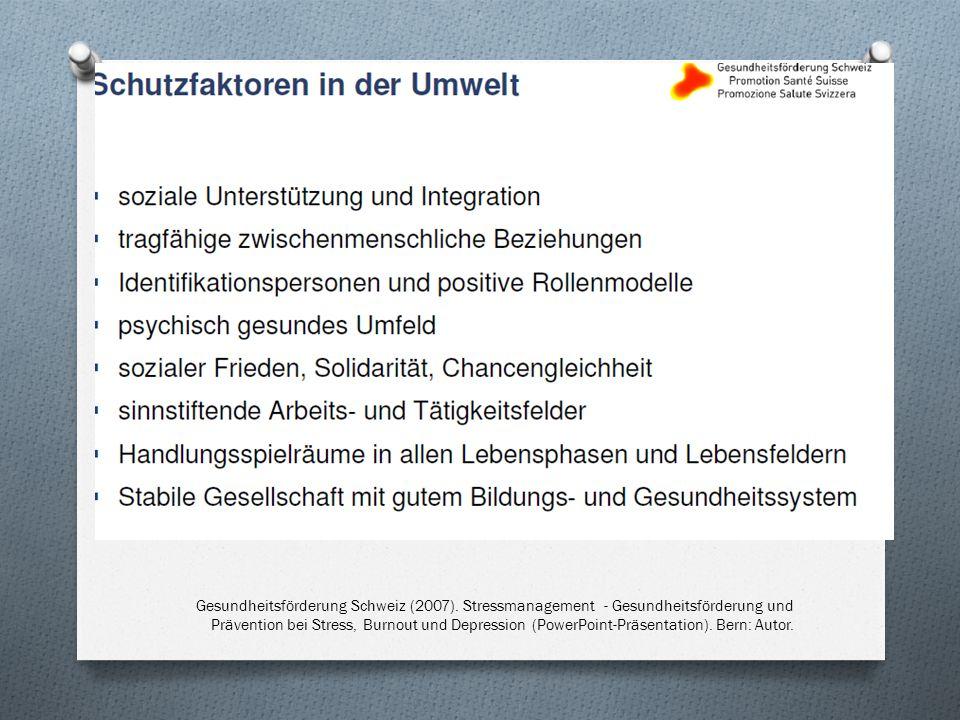 Gesundheitsförderung Schweiz (2007)