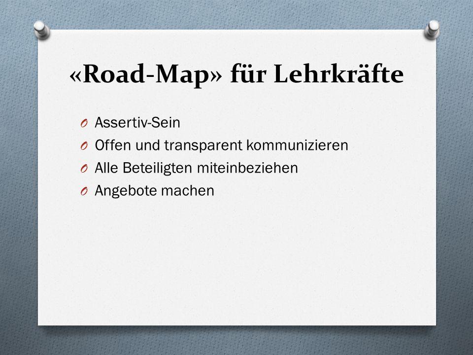 «Road-Map» für Lehrkräfte