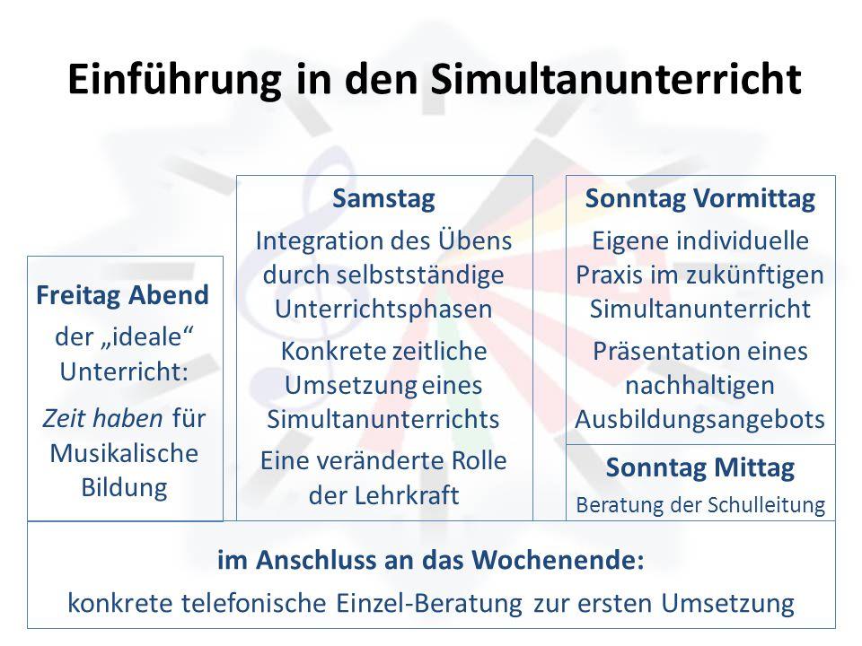 Einführung in den Simultanunterricht